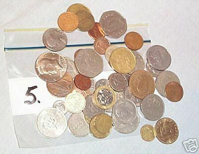 #5. Lot Of 50 World Coins