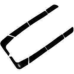 SeaDoo Traction Mats XP 1993-1996 SP Family 1994-1999 Foot Pads with PSA