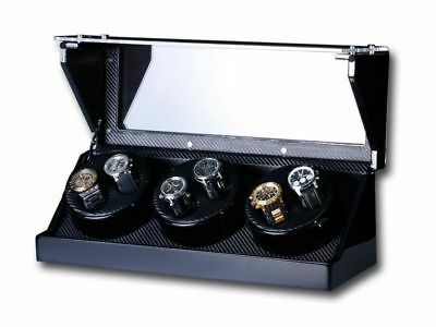 "Uhrenbeweger ""Screws"" 6 Uhren Carbon   Watch Winder"