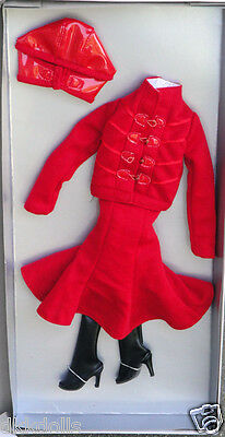 Tonner Dynamic Red Outfit Only for Cami and Jon Dolls, 2012