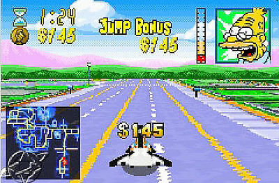 The Simpsons Road Rage (Game Boy Advance) GBA