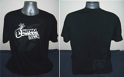 NITRO CIRCUS Live official 100% cotton black T-Shirt NEW / UNWORN L/XL/XXL/XXXL