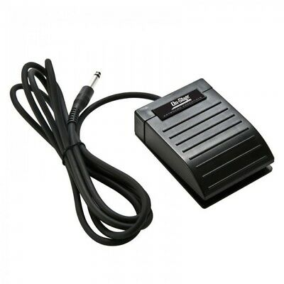 TGI Piano Keyboard Sustain Pedal Black Swichable Polarity Works On All Models!