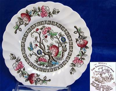 1-15 Myott Indian Tree Bread Plates Made in Staffordshire England