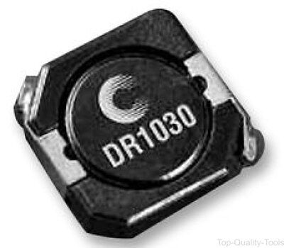 Surface Mount Power Inductor, DR1030 Series, 8.2 µH, 3.3 A, 3.54 A, Shielded, 0.