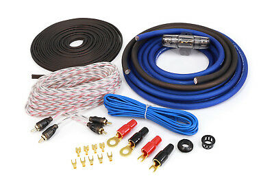 KnuKonceptz KCA 4 Gauge TRUE 4 Gauge Amp Kit Installation Wiring Kit