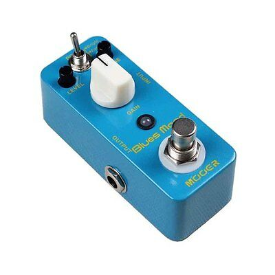 Mooer Micro Series Blues Mood Blues Drive Electric Guitar Effects Pedal