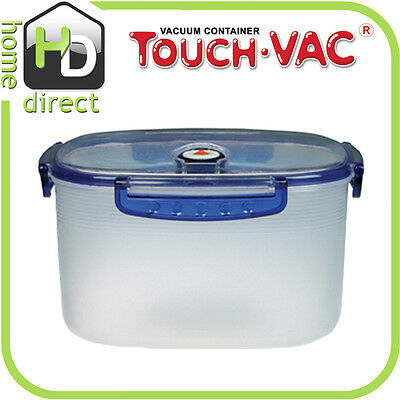 5.0L TouchVac Airtight Vacuum Sealed Kitchen Storage Microwave Food Container