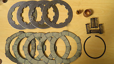 5 Plate Clutch Kit Hard Compound Type.suitable For Std Crown, Lambretta Scooters