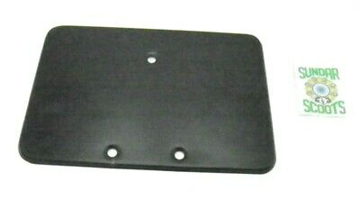 REAR METAL NUMBER PLATE HOLDER. 20 cms x 14 cms. FOR LAMBRO AND FOR VESPA SCOOTS