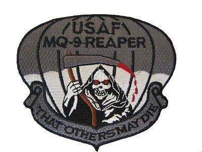 USAF AFSOC MQ-9 REAPER PREDATOR DRONE THAT OTHERS MAY DIE BLACK OPS PATCH NEW