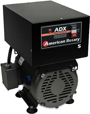 American Rotary Phase Converter  ADX5F 5 HP Floor 1 to 3 Phase CNC Extreme Duty