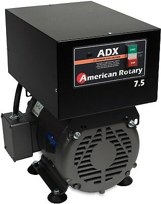 American Rotary Phase Converter ADX7F 7.5 HP Floor 1 to 3 Phase Extreme Duty