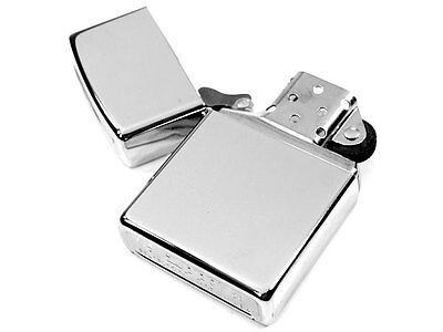 Zippo Windproof High Polish Chrome Lighter Classics 250