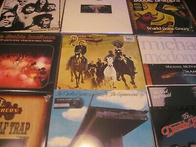 Doobie Brothers Audiophile 9 Lp 180 Gram Set + 3 Original 80's Lp's + 5 Cd Set
