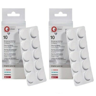 2 Packs Of Bosch & Siemens Coffee Machine Cleaning Tablets 310575