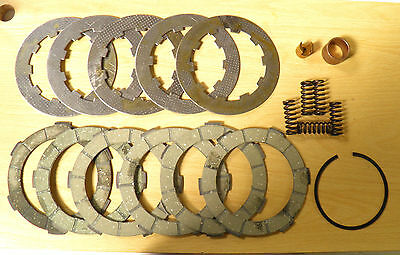 Li/sx/tv/gp Performance 6 Plate Clutch Kit Inc' Cork,plate/spring For Lambretta