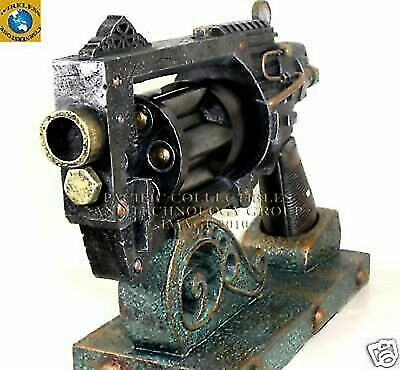 Authentic Steampunk Blaster Disruptor The Big Daddy Movie Prop Toy Gun Destroyer