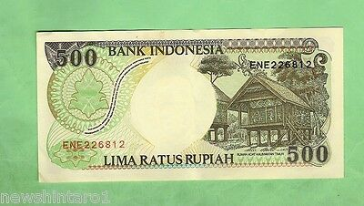 #d7. World Banknote - Indonesia 500 Rupiah