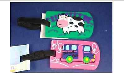 Child Theme Luggage Bag ID Tags 5 styles Avail.