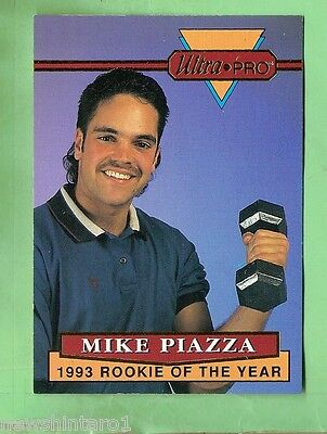 1994  ULTRAPRO BASEBALL PROMOTIONAL CARD - MIKE PIAZZA #5 of 6