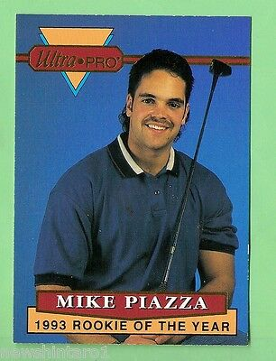 1994  ULTRAPRO BASEBALL PROMOTIONAL CARD - MIKE PIAZZA #3 of 6