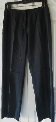 "United Colors of Benetton Womens Grayish Black Dress Pants Slack Sz 40 28"" Waist"