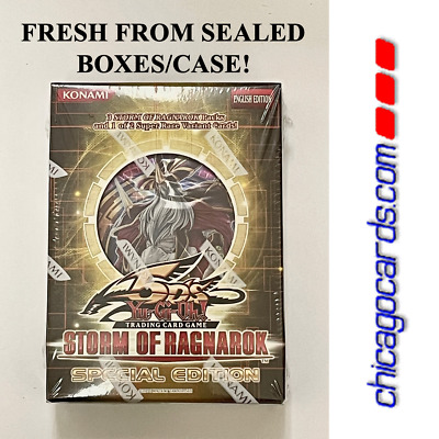 YuGiOh 5D's Storm of Ragnarok Special Edition SE FACTORY SEALED Deck/Box 3 Packs