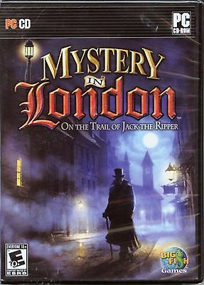 MYSTERY IN LONDON On the trail of Jack the Ripper PC Game Hidden Object NEW