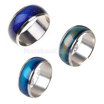 3pcs Emotion Feeling Mood Color Changeable Ring Size 6.5 7 .5 5 Set Girls Gift