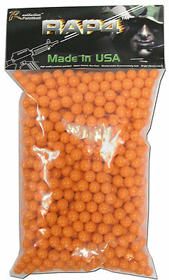 RAP4 .43 Caliber PAINTBALLs Bag of 1000 - High Quality - UK - All Colours