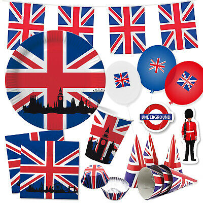 *Großbritannien & Union Jack* - Party Deko England UK GB United Kingdom London
