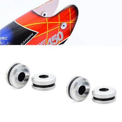 Metal Canopy Mounting Nuts for T-rex 450 helicopter