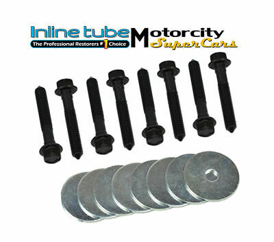 INLINE TUBE IMPALLA  BODY MOUNT HARDWARE BOLT BOLTS KIT SET 62-70 16 pc NOSR