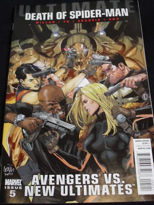 """Ultimate Avengers Vs New Ultimates #5 """"death Of Spider-Man""""last 2"""