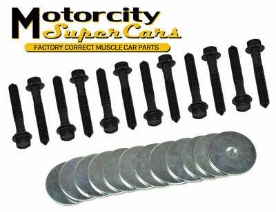 INLINE TUBE GRAND PRIX  BODY MOUNT HARDWARE BOLT BOLTS KIT SET 62-72 24 pc NOSR