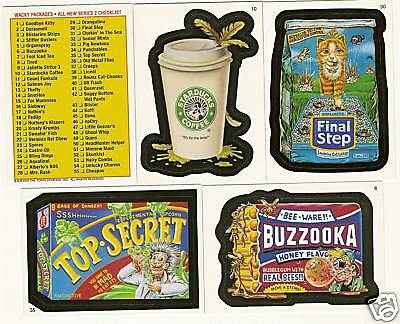 2004 WACKY PACKAGES Series 2 Complete Set   55 Cards