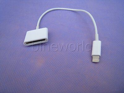 30pin to 8pin adapter converter for all your iphone 4 cable to new iphone 5&6&7