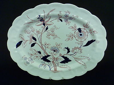 BOOTHS FRESIAN 38cm OVAL SERVING PLATE (uc)