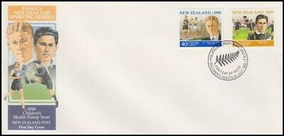 NEW ZEALAND FDC 1990 HEALTH SET OF 2 STAMPS ID 020/FH171