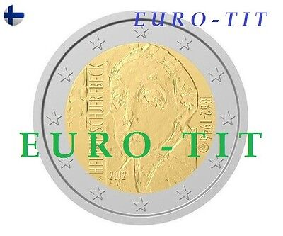 2 €   Finlande  2012  Lot  De  2  X  Pieces     Nouveau        Disponible