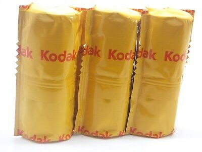3 x KODAK PORTRA 160 120 ROLL CHEAP PRO COLOUR FILM By 1st CLASS ROYAL MAIL