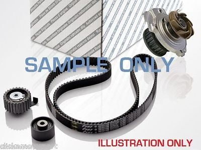VAUXHALL ZAFIRA MK2 1.6 TIMING CAM BELT KIT TENSIONER IDLER PULLEY WATER PUMP