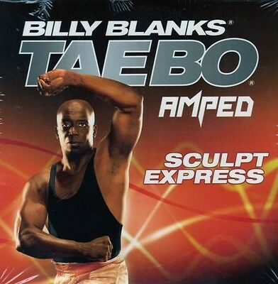 Billy Blanks Tae Bo Cardio Kickboxing AMPED Sculpt Express!