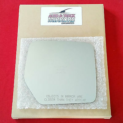 Fits 07-17 Patriot 08-12 *Liberty Right Pass Mirror Glass Lens w//Adhesive 2 Opts