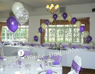 Wedding Balloons - DIY Kit - All Colours - All Designs - Arch and 10 Tables
