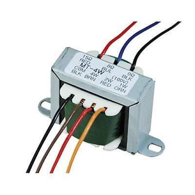 100 V Line Transformer Converting Line Signal To 8/16 Ohm with Tappings 1,2,4 W