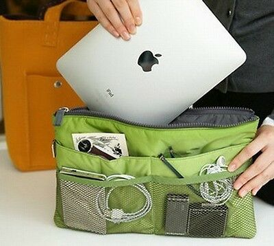 travel pouch Insert  Organiser liner Purse Organizer tidy Bag protect case ipad