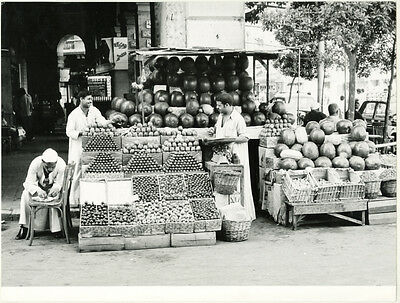 Photo Egypte Le Caire ? Commerce Vers 1960