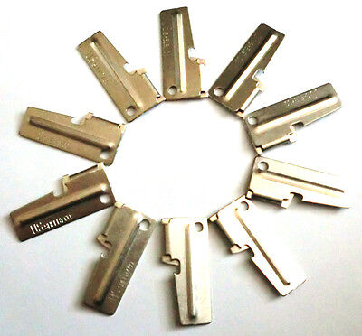 10pc G.I. Original Military Army Issue P38 P-38 Can Opener US Shelby Co. Made